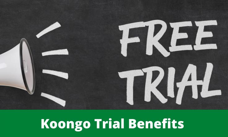 Prova gratuita Koongo